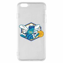 Чехол для iPhone 6 Plus/6S Plus New Orleans Hornets Logo - FatLine