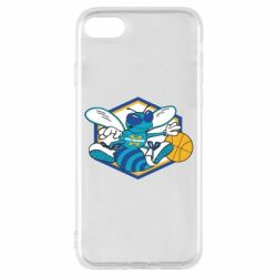 Чехол для iPhone 7 New Orleans Hornets Logo - FatLine