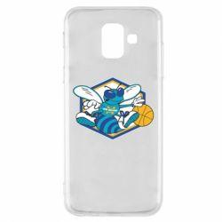 Чехол для Samsung A6 2018 New Orleans Hornets Logo - FatLine