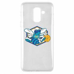 Чехол для Samsung A6+ 2018 New Orleans Hornets Logo - FatLine