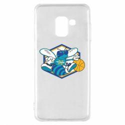 Чехол для Samsung A8 2018 New Orleans Hornets Logo - FatLine