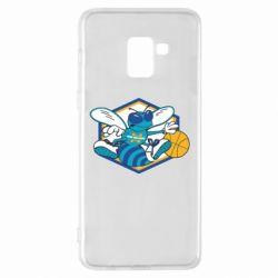 Чехол для Samsung A8+ 2018 New Orleans Hornets Logo - FatLine