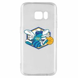 Чехол для Samsung S7 New Orleans Hornets Logo - FatLine