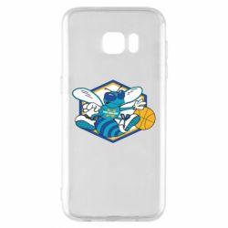 Чехол для Samsung S7 EDGE New Orleans Hornets Logo - FatLine