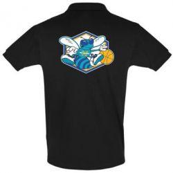 Футболка Поло New Orleans Hornets Logo - FatLine