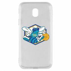 Чехол для Samsung J3 2017 New Orleans Hornets Logo - FatLine