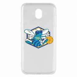 Чехол для Samsung J5 2017 New Orleans Hornets Logo - FatLine
