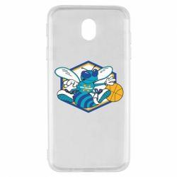 Чехол для Samsung J7 2017 New Orleans Hornets Logo - FatLine
