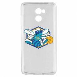 Чехол для Xiaomi Redmi 4 New Orleans Hornets Logo - FatLine