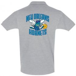 Футболка Поло New Orleans Hornets - FatLine