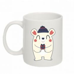 Кружка 320ml New Year Bear