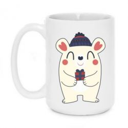Кружка 420ml New Year Bear