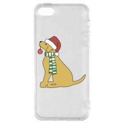 Чехол для iPhone5/5S/SE New Year of the Yellow Dog