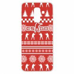 Купить Masha, Чехол для Samsung A6+ 2018 New Year's CSGO, FatLine
