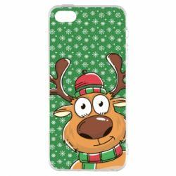 Купить Олень, Чехол для iPhone5/5S/SE New Year's deer, FatLine