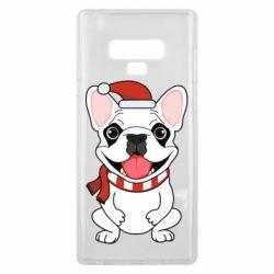 Чехол для Samsung Note 9 New Year's French Bulldog