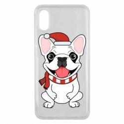 Чехол для Xiaomi Mi8 Pro New Year's French Bulldog