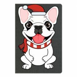Блокнот А5 New Year's French Bulldog