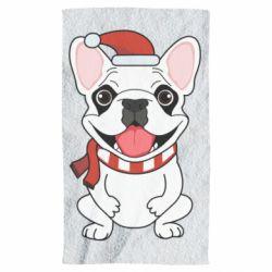 Полотенце New Year's French Bulldog