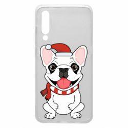 Чехол для Xiaomi Mi9 New Year's French Bulldog