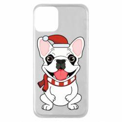 Чехол для iPhone 11 New Year's French Bulldog