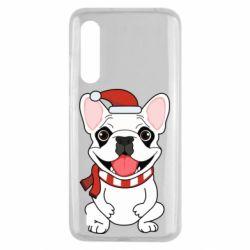 Чехол для Xiaomi Mi9 Lite New Year's French Bulldog