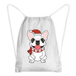 Рюкзак-мешок New Year's French Bulldog