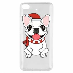 Чехол для Xiaomi Mi 5s New Year's French Bulldog
