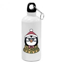 Фляга New Year's Penguin