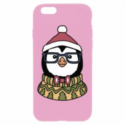 Чехол для iPhone 6 Plus/6S Plus New Year's Penguin