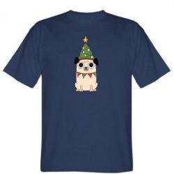 Чоловіча футболка New Year's Pug