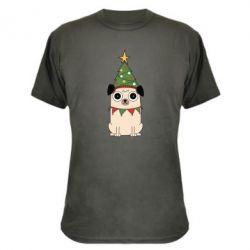 Камуфляжна футболка New Year's Pug