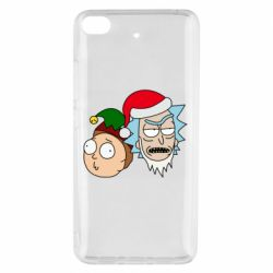Чехол для Xiaomi Mi 5s New Year's Rick and Morty