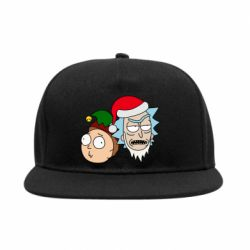 Снепбек New Year's Rick and Morty
