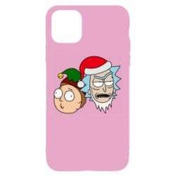 Чехол для iPhone 11 New Year's Rick and Morty