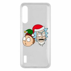 Чохол для Xiaomi Mi A3 New Year's Rick and Morty