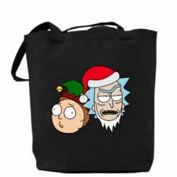Сумка New Year's Rick and Morty