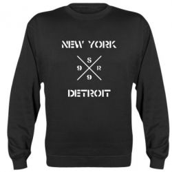 Реглан (свитшот) New York Detroit - FatLine