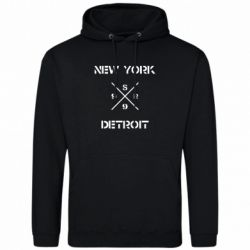 Толстовка New York Detroit