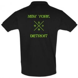Футболка Поло New York Detroit