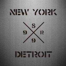 Наклейка New York Detroit - FatLine