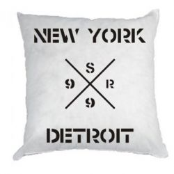 Подушка New York Detroit - FatLine
