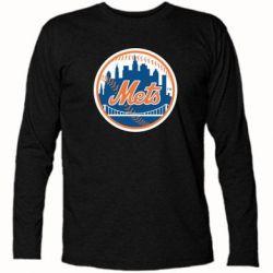 Футболка с длинным рукавом New York Mets - FatLine