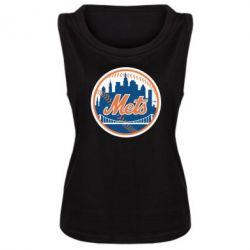 Женская майка New York Mets - FatLine
