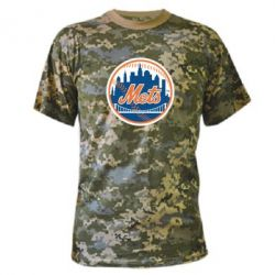 Камуфляжная футболка New York Mets - FatLine