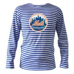 Тельняшка с длинным рукавом New York Mets - FatLine