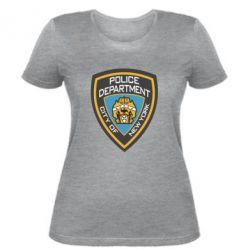 Жіноча футболка New York Police Department