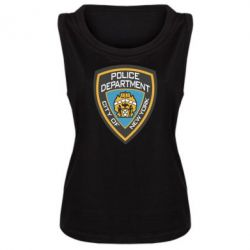 Женская майка New York Police Department