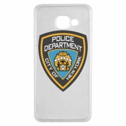 Чехол для Samsung A3 2016 New York Police Department