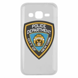 Чехол для Samsung J2 2015 New York Police Department